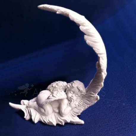 Figurine ange plume bibelot ange for Bibelot de decoration