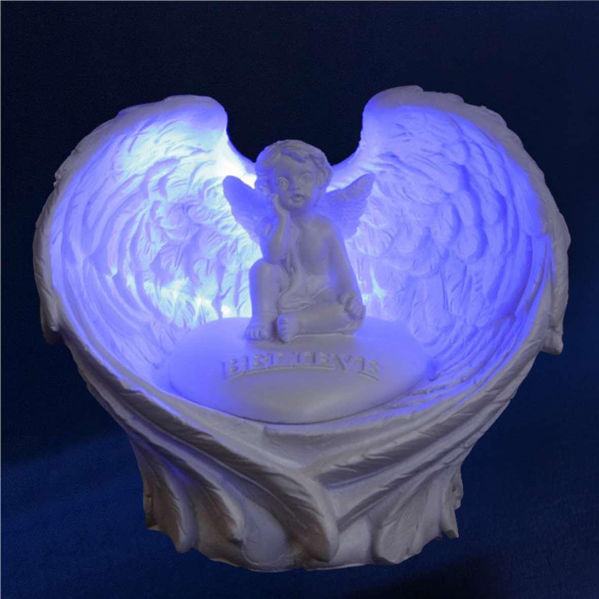 cadeaux anges lampe anges ange eclaire. Black Bedroom Furniture Sets. Home Design Ideas