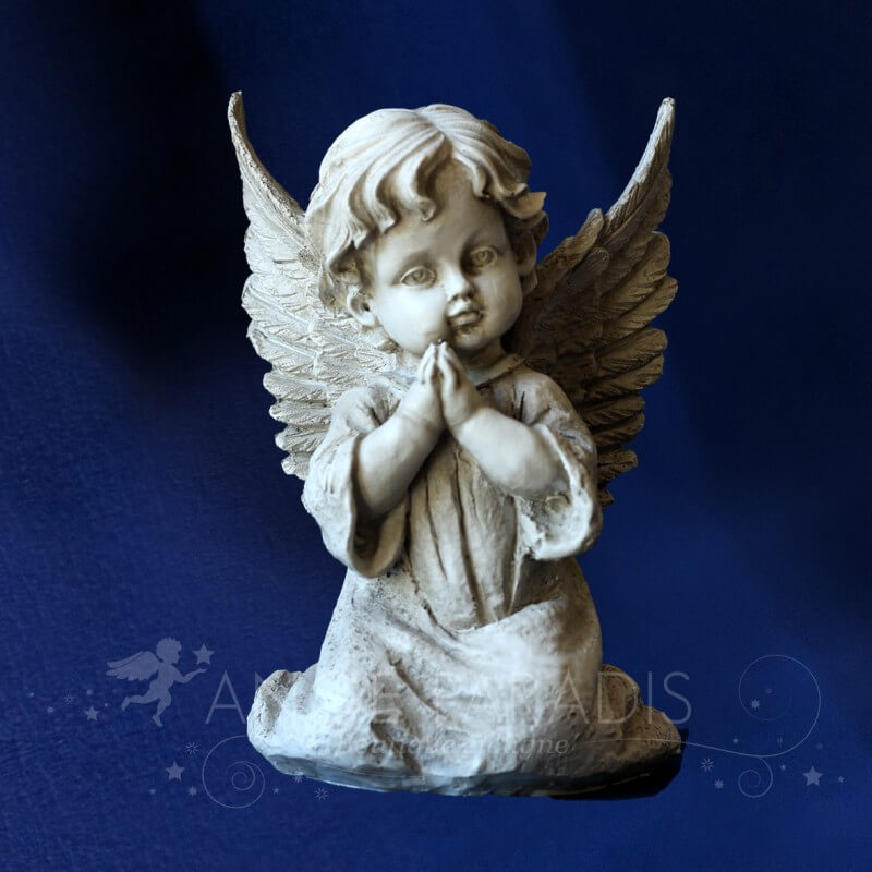 statuettes anges pour exterieur vente modele anges. Black Bedroom Furniture Sets. Home Design Ideas