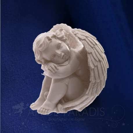 figurine ange protecteur ange pierre tombale decoration fun raire. Black Bedroom Furniture Sets. Home Design Ideas