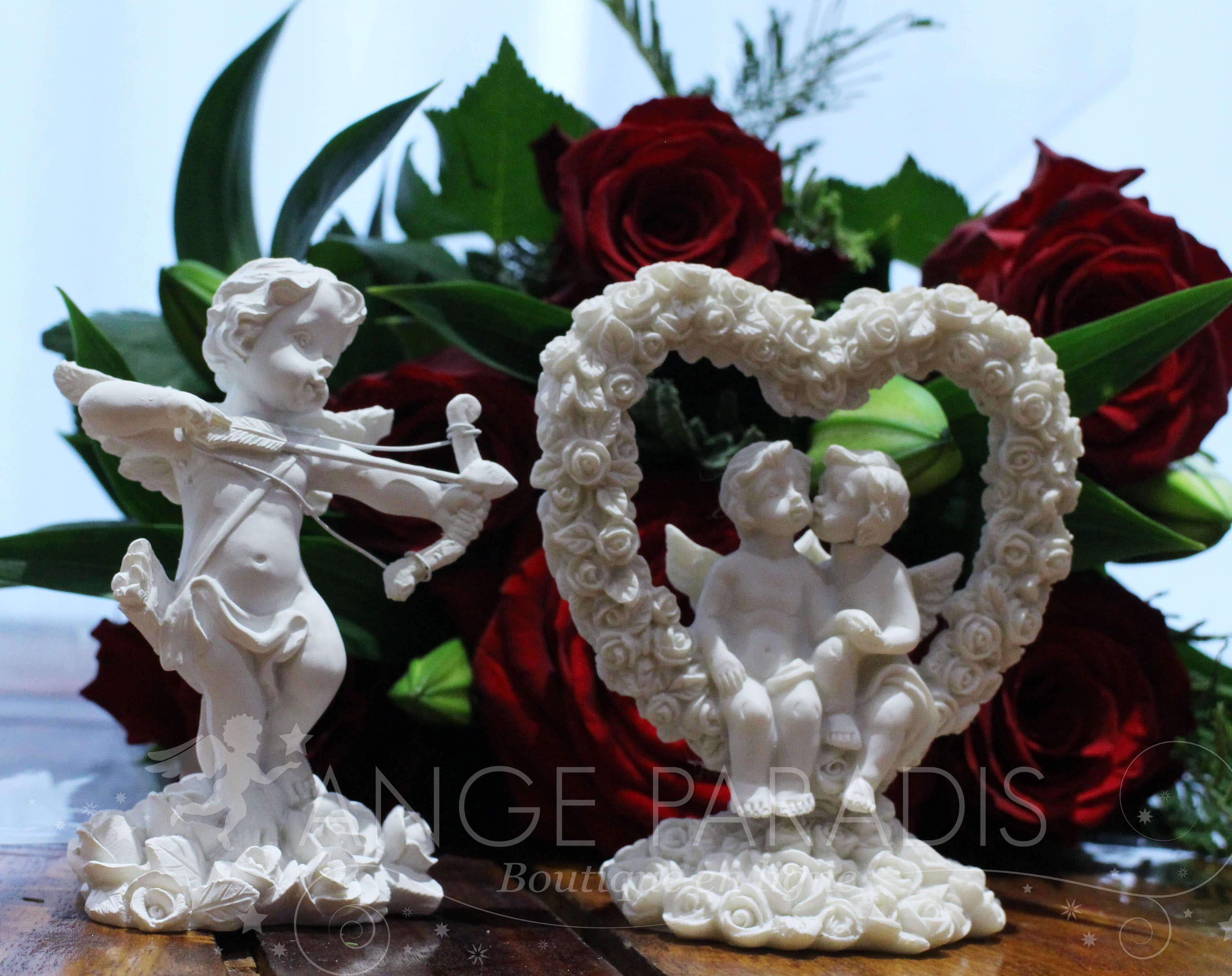 Un Mariage sous le signe des anges avec notre boutique.