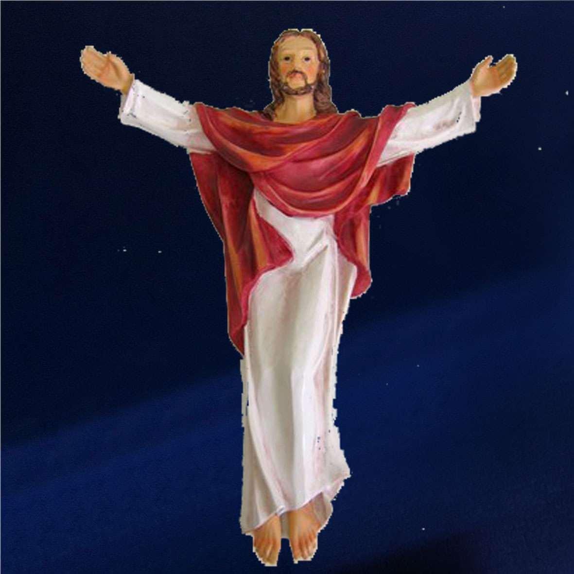 STATUE JESUS CHRIST A SUSPENDRE