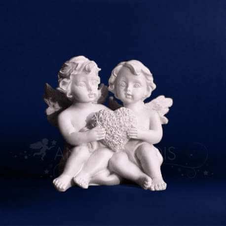 decoration romantique - figurine ange