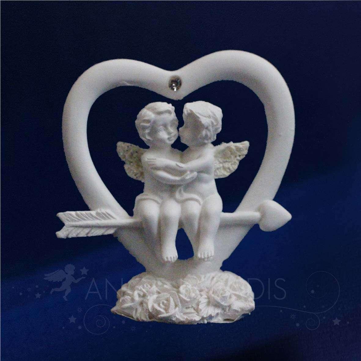 Figurine ange pour mariage anges romantique pour decorer cherubins - Statue d ange pour exterieur ...