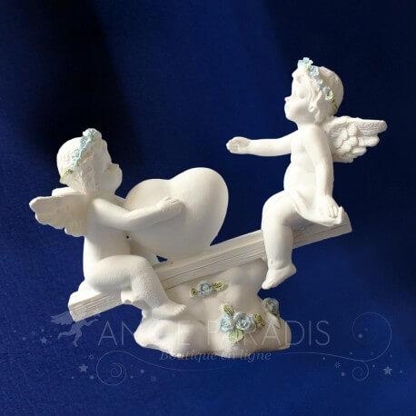 Figurines d'anges pour un bapteme pour garcon / Accessoire d'anges en ligne