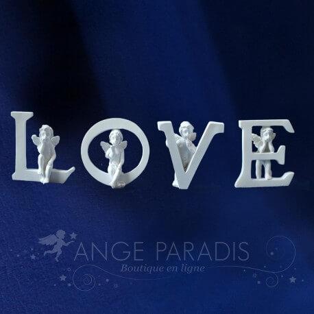 DECORATION avec Anges blancs / romantique - Fiancailles