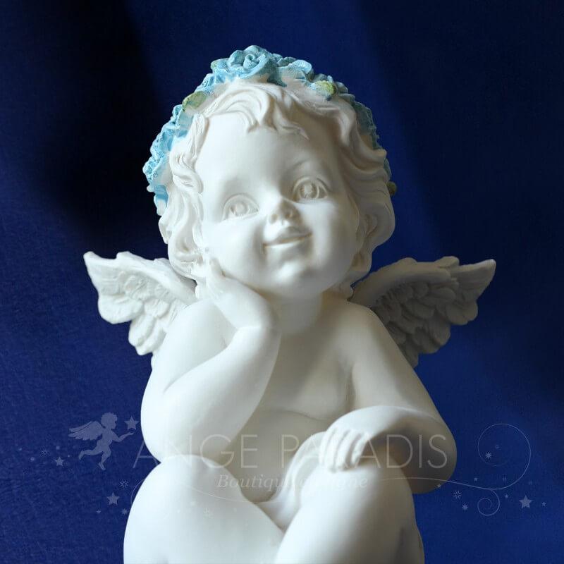 statuette ange bapteme