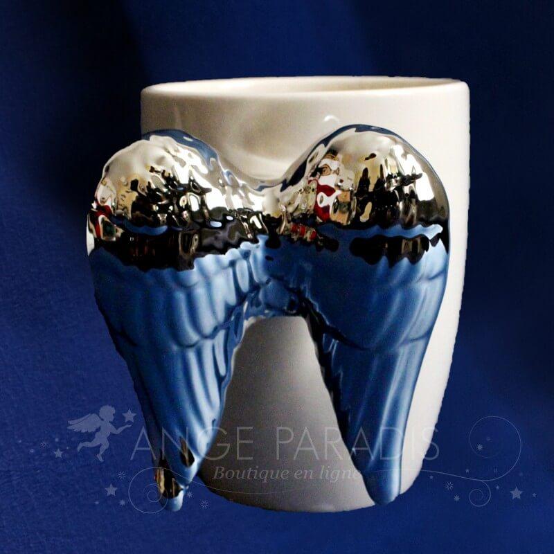 tasse ange vaisselle theme ange cadeau original ange