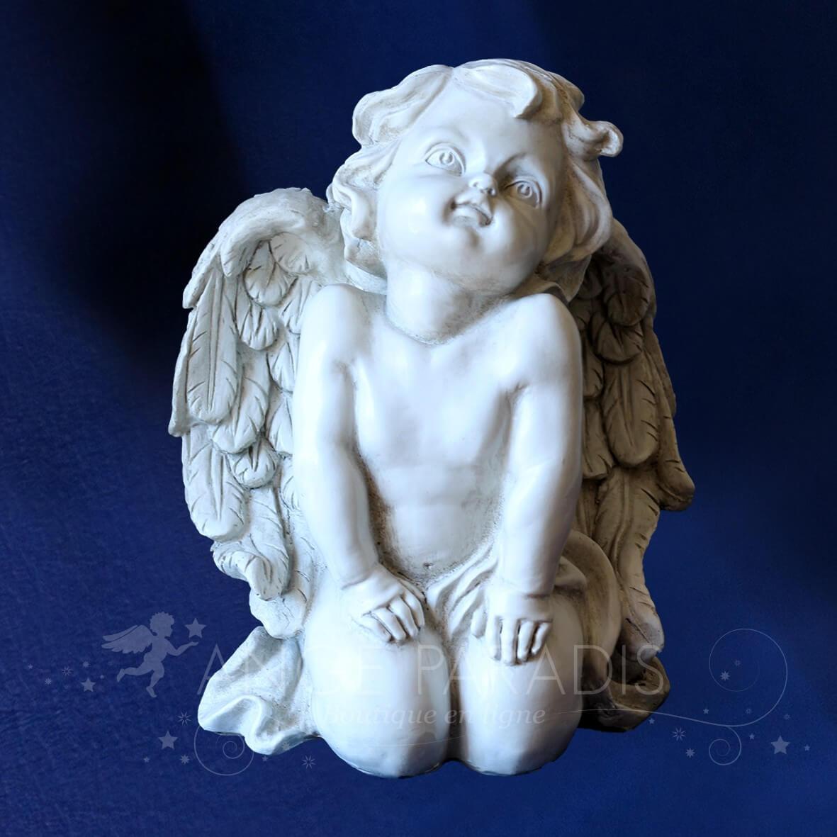 D coration ang lique statue ange pour ext rieur decoration ange pour mariage ou communion - Statue d ange pour exterieur ...