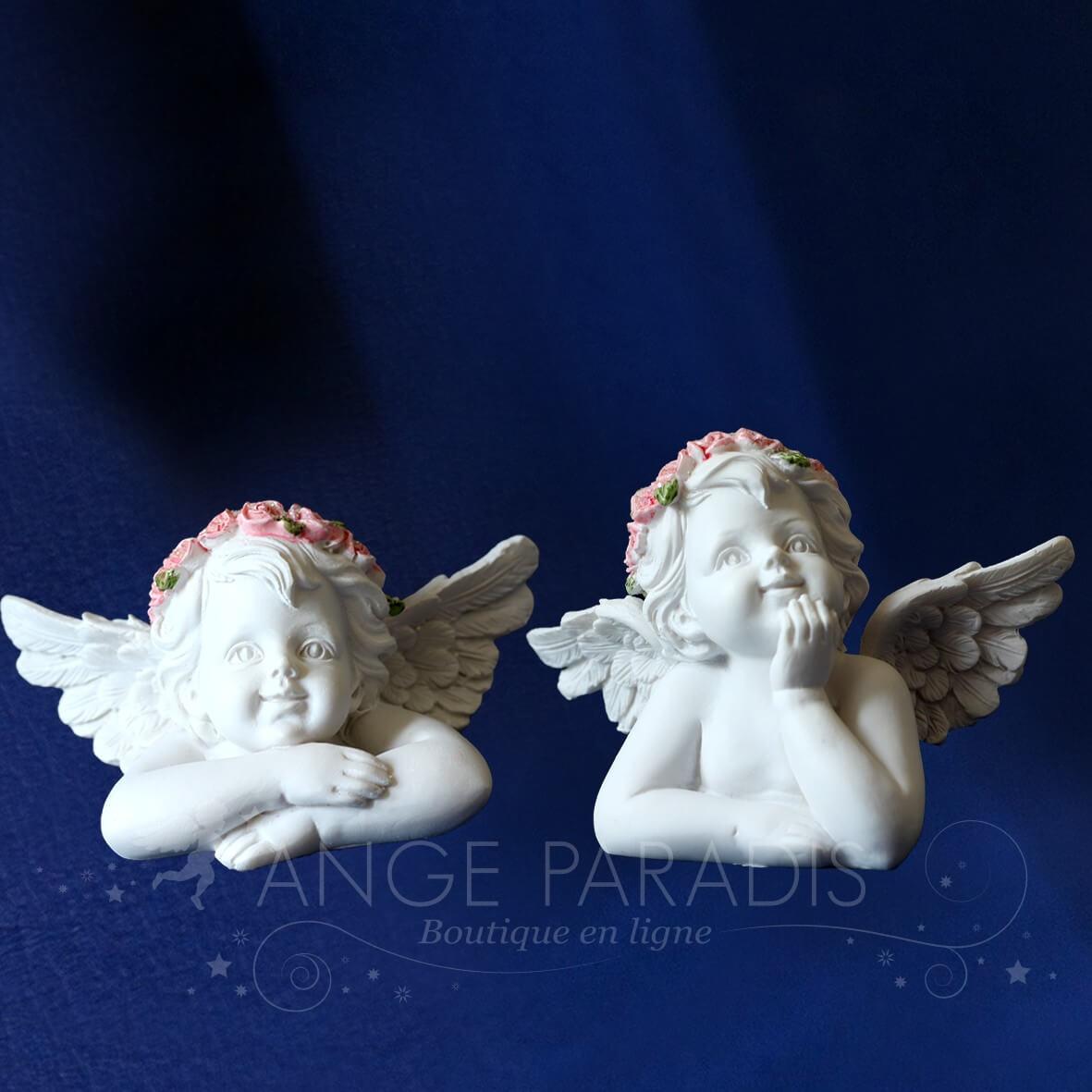 buste ange tete ange pour d coration achat d coration anges pour table communion. Black Bedroom Furniture Sets. Home Design Ideas