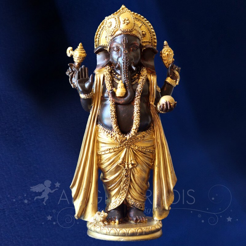 Statuette ganesh sculpture ganseh statue ganesh pas for Statue jardin pas cher
