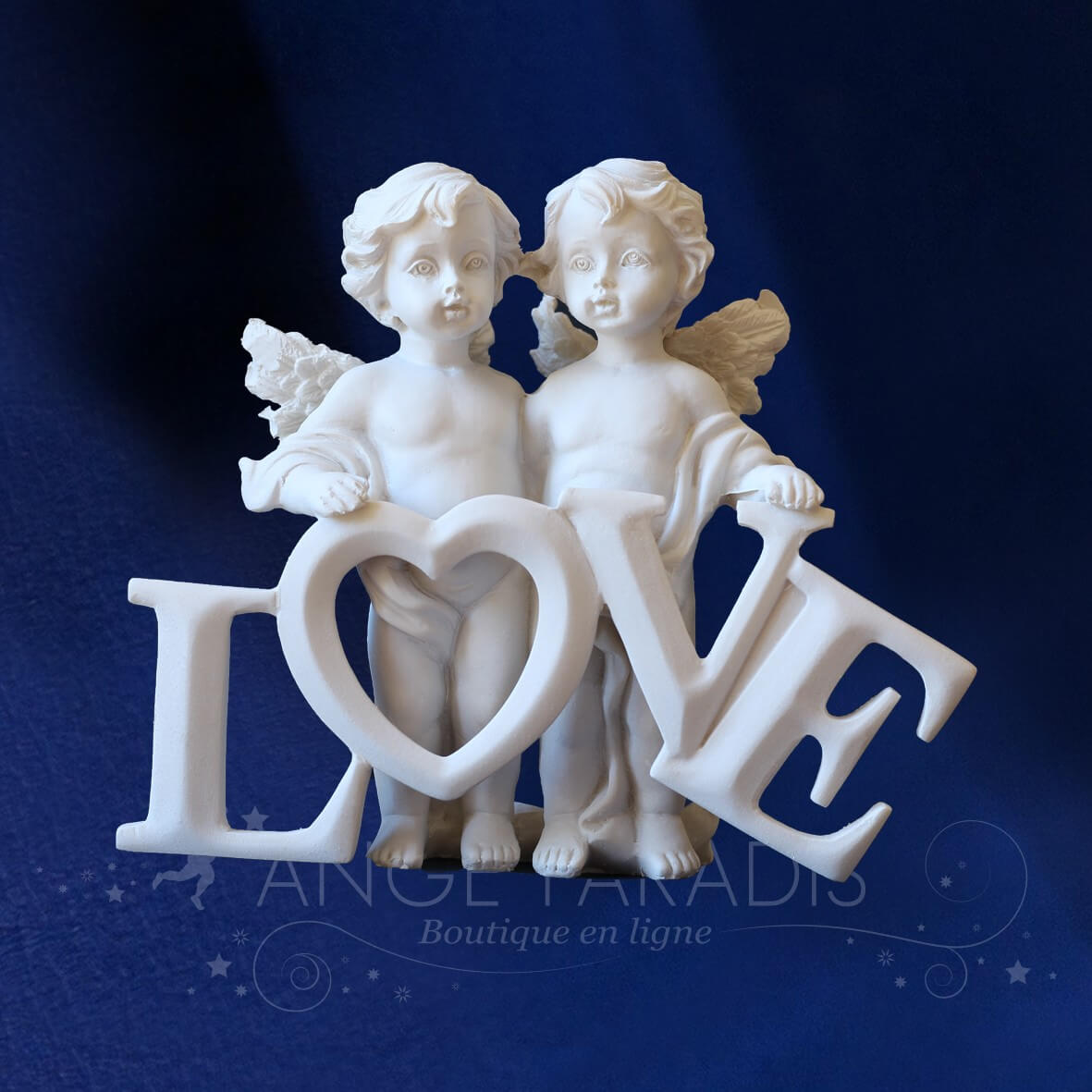 FIGURINE ANGE LOVE & LOVE