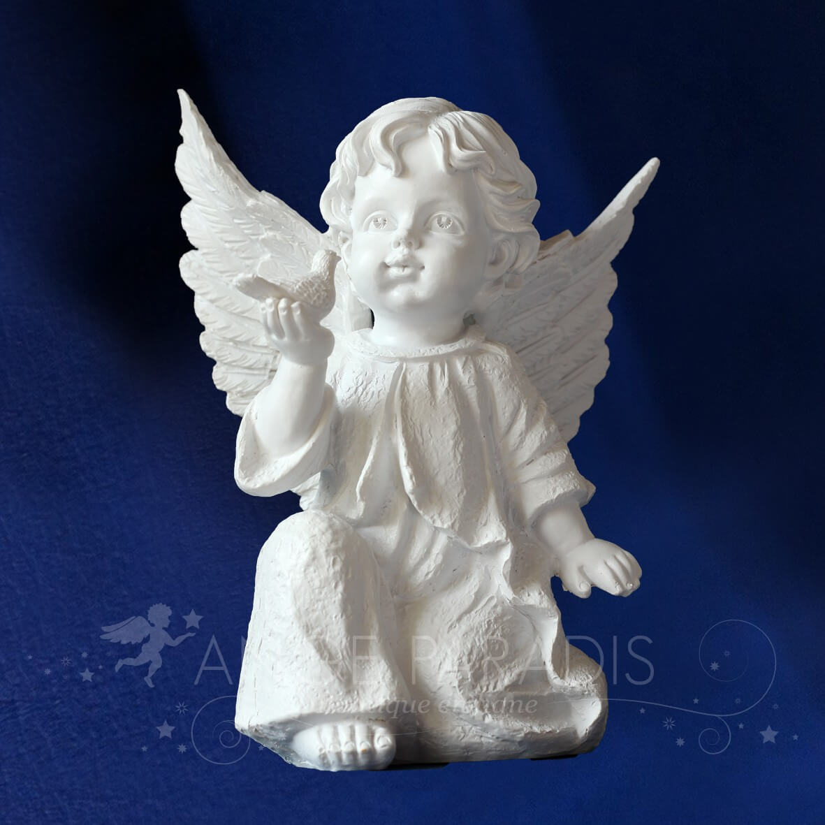 Site vente statue statuette et figurine ange blancs anges d coratifs - Statue d ange pour exterieur ...