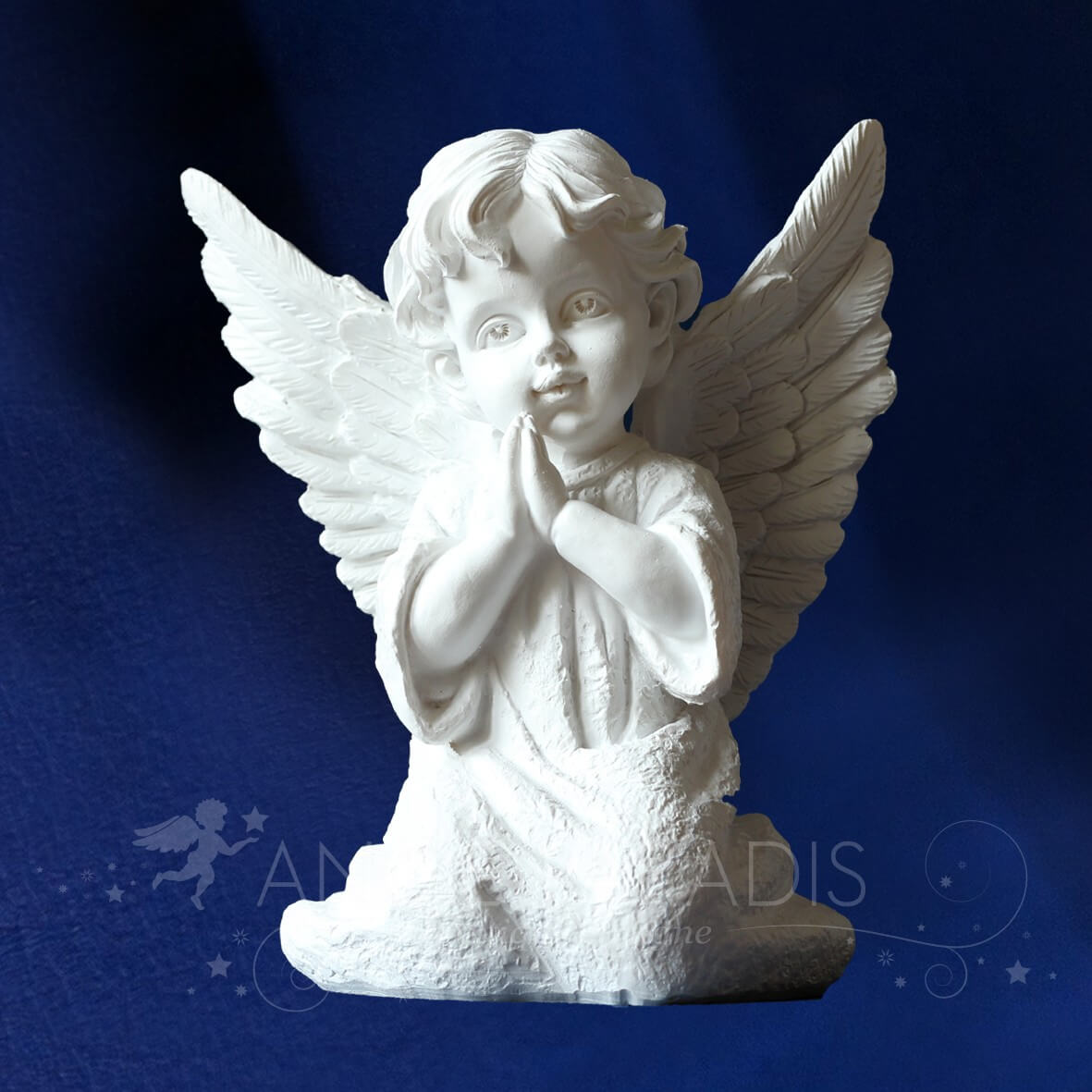 statue ange statuette ange boutique site ange anges blancs r sine. Black Bedroom Furniture Sets. Home Design Ideas