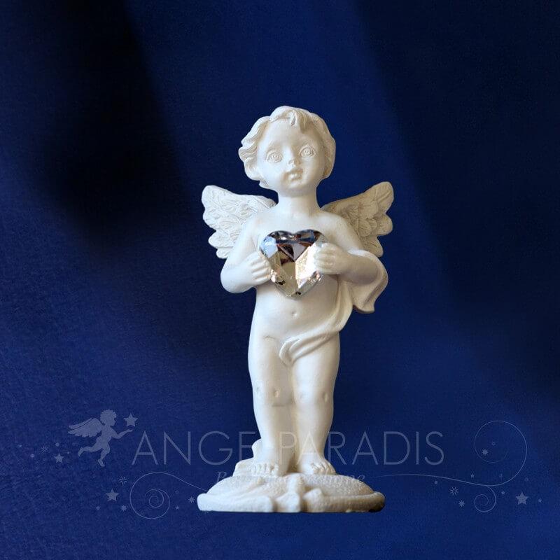 figurine ange coeur
