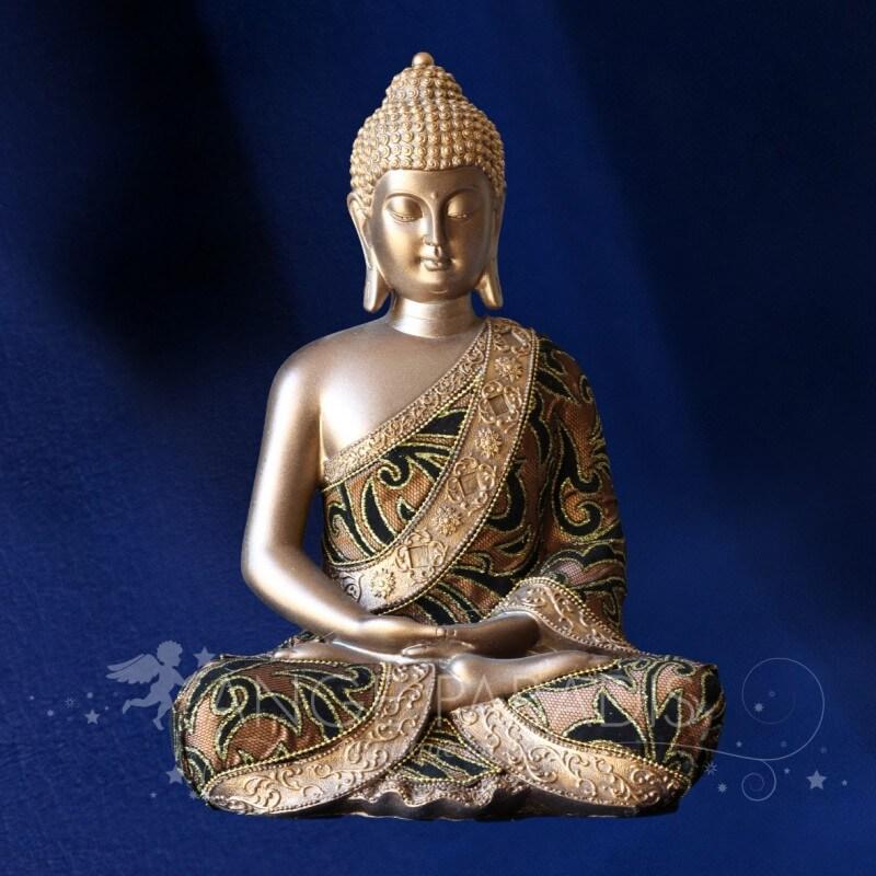 statuette de bouddha statue de bouddha avec style. Black Bedroom Furniture Sets. Home Design Ideas