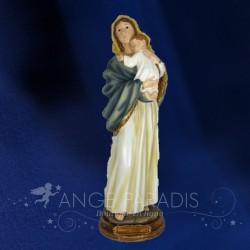 statuette MADONNE AVEC ENFANT figurine madone vierge marie