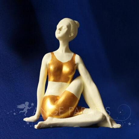 STATUETTE YOGA cadeaux yoga sculpture yoga youga