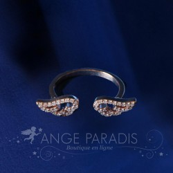 BAGUE AILE ANGE DORE
