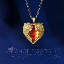 COLLIER COEUR D'ANGE
