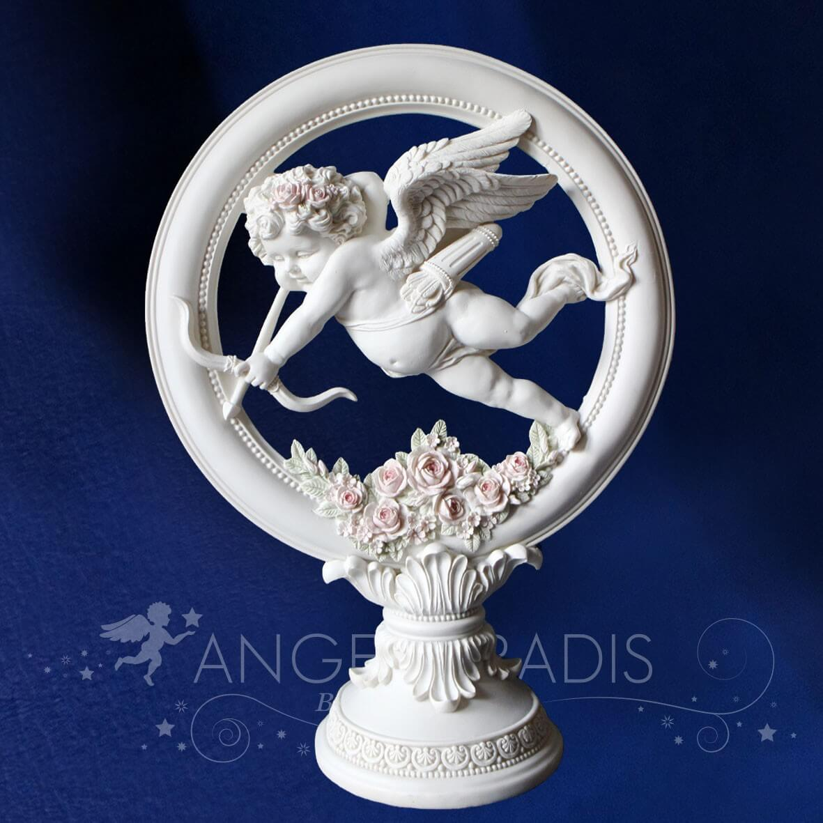 DECORATION ANGE CUPIDON GEANT 37CM