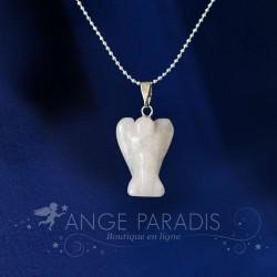 COLLIER ANGE GARDIEN PIERRE quartz