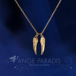 COLLIER AILES ANGES GOLDEN