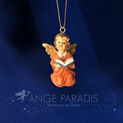 ANGELOT A ACCROCHER AVEC LIVRE