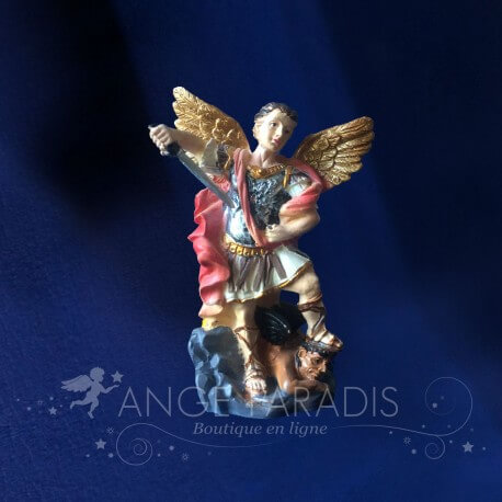 FIGURINE ARCHANGE SAINT MICHAEL 8CM