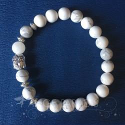 "Bracelet Bouddha Zen ""Ivoire"""