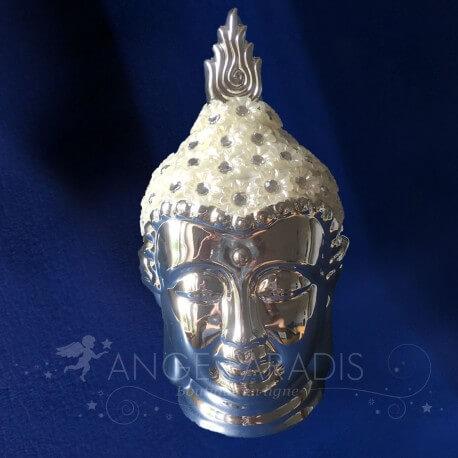 Tete Bouddha Luxe Brillants