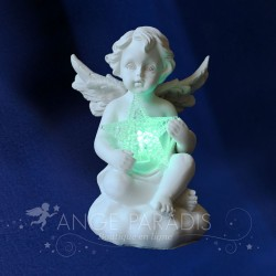 figurines anges lumineux