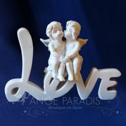 FIGURINE ANGE MARIAGE LOVE STYLE