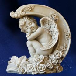 """Statue d'Ange Géant Extérieur """"Rose des Sables"""" 38cm"""