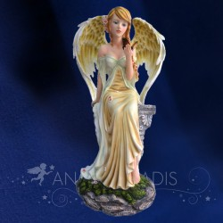 STATUETTE FEE ANGEL APAISANTE