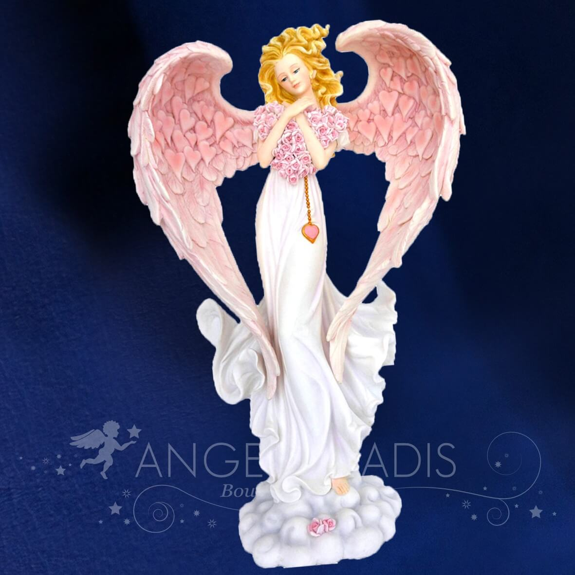 GRANDE FIGURINE FEE ANGEL TENDRESSE 37CM