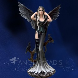 GRANDE FEE GOTHIQUE GEANTE MAGIC ANGELS 63cm