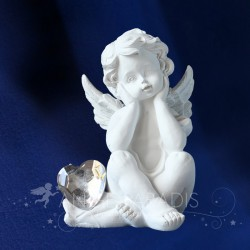 ANGE ADMIRABLE COEUR BRILLANT - Figurine d'ange
