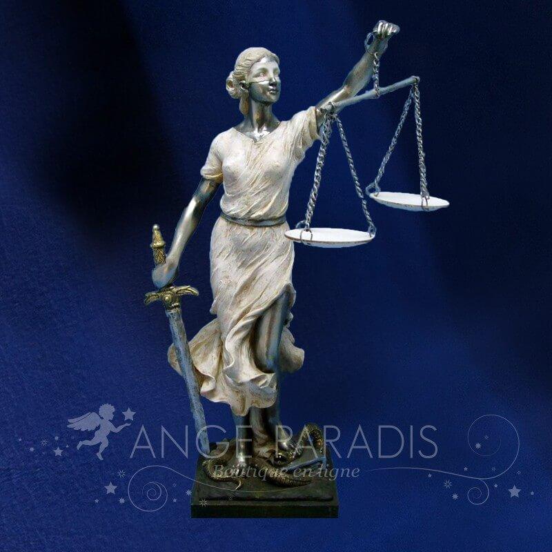 STATUETTE D'ANGE JUSTICE