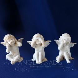 ANGES DE LA SAGESSE AMUSES - Statuette d'ange