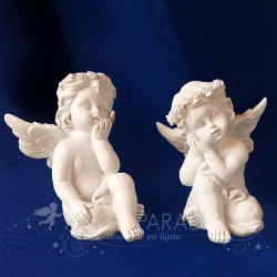 Deux Anges Blancs Aidants