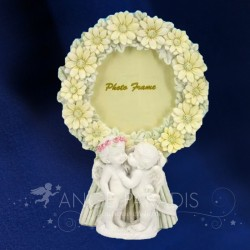 CADRE PHOTO ANGES FLOWER