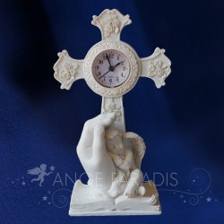 DECORATION D'ANGE HORLOGE