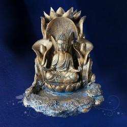 Porte Encens Bouddha Or sombre