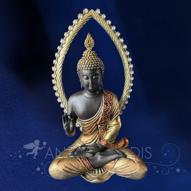 Statue Bouddha Aura 25cm