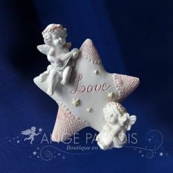 figurine ange avec une etoile