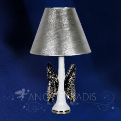 LAMPE ANGE CERAMIQUE