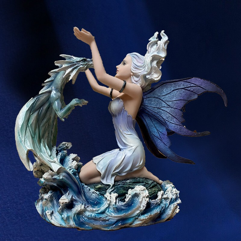 FIGURINE FEE MERVEILLE DE L OCEAN