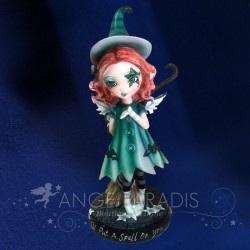 statuette fee lutin elfe