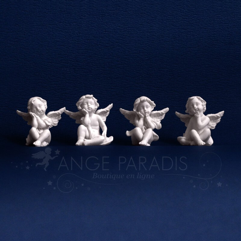 4 FIGURINES ANGES